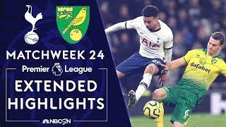 Tottenham Hotspur v Norwich City  PREMIER LEAGUE HIGHLIGHTS  1222020  NBC Sports