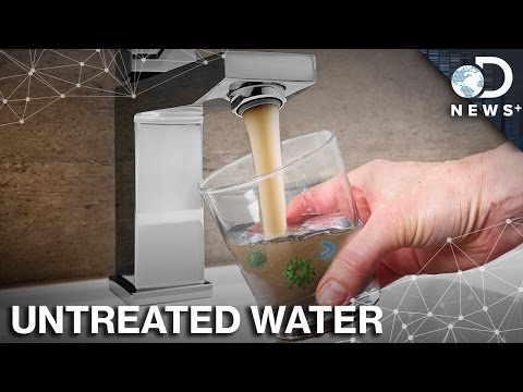 You Can't See It, But There's A LOT Of Stuff In Your Drinking Water