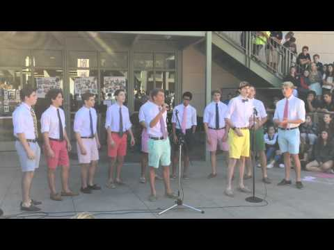 Menlo School a capella performance 10-29-15