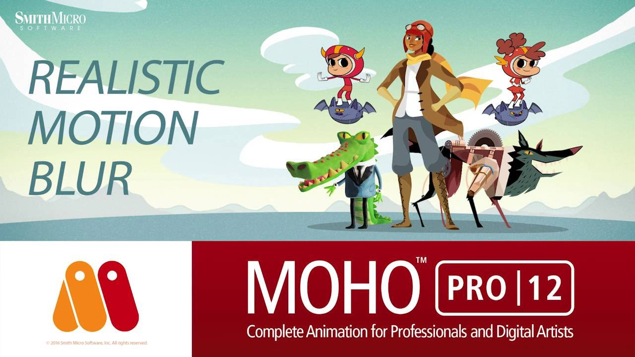 Moho Pro 12 Review - A Great, Inexpensive Animation Software