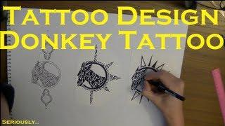 Draw my Tattoo! Ep. 1 - Tribal Donkey (Yes, I
