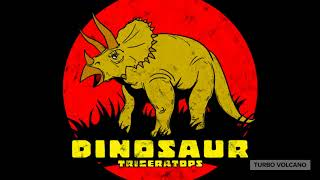 TRICERATOPS DINORSAUR T-Shirt Launch Promo