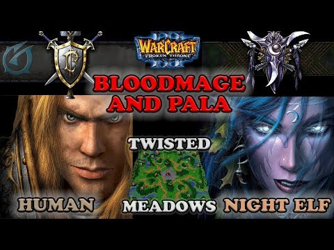 Grubby | Warcraft 3 The Frozen Throne | HU v NE - Bloodmage and Pala - Twisted Meadows