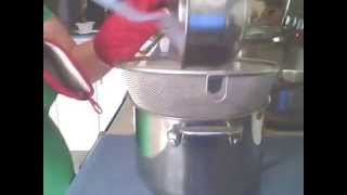 Making a Raspberry Sauce
