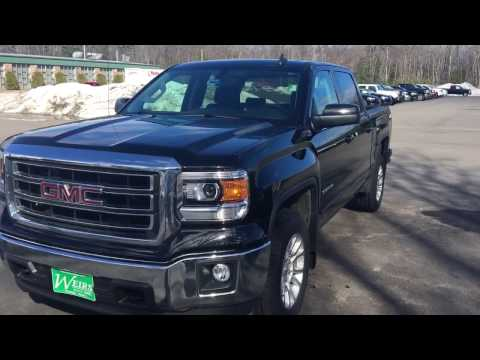 USED 2015 SIERRA SLE WITH BENCH SEATS