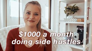 My 5 Streams of Income ($1000/month) | Make Money Online in 2020