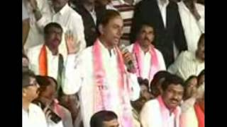 KCR Jokes on Chabdrababu