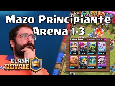 Mazo Principiante para Arena 1, 2 y 3 | Clash Royale