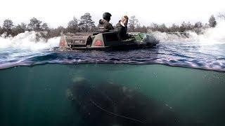 Нашли жуткое озеро на вездеходе Tinger Track S500