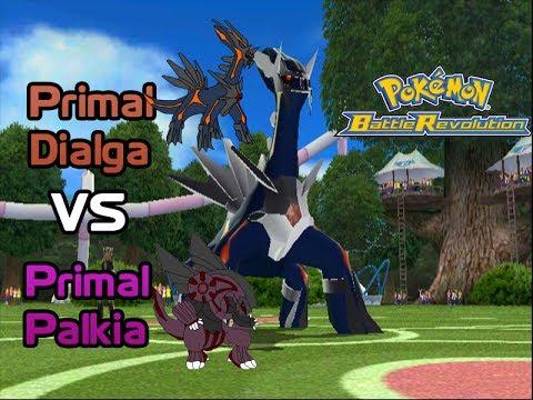 Primal Dialga vs Primal Palkia - Pokemon Battle Revolution ...