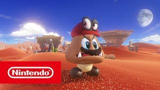 Super Mario Odyssey - E3 2017 Trailer (Nintendo Switch)