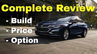 2018 Chevrolet Cruze Diesel Automatic FWD Sedan - Build & Review - Lots of Custom Options!