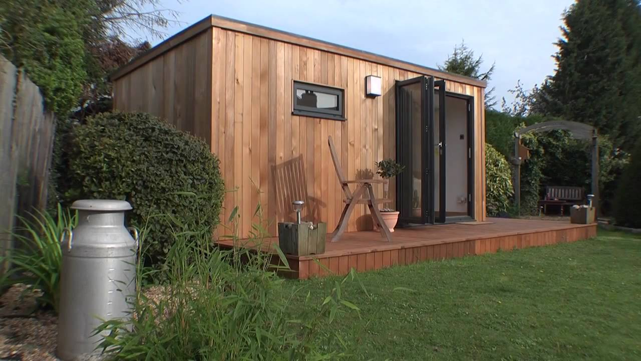 home office garden room youtube