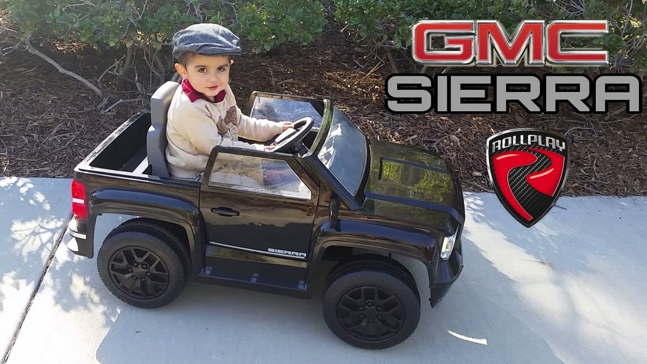 gmc sierra power wheels youtube. Black Bedroom Furniture Sets. Home Design Ideas