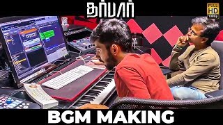 VIDEO: Anirudh Composing Darbar BGM with AR Murugadoss!! – Vera Level Moments!
