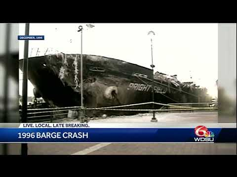 Remember the 1996 barge crash in New Orleans?