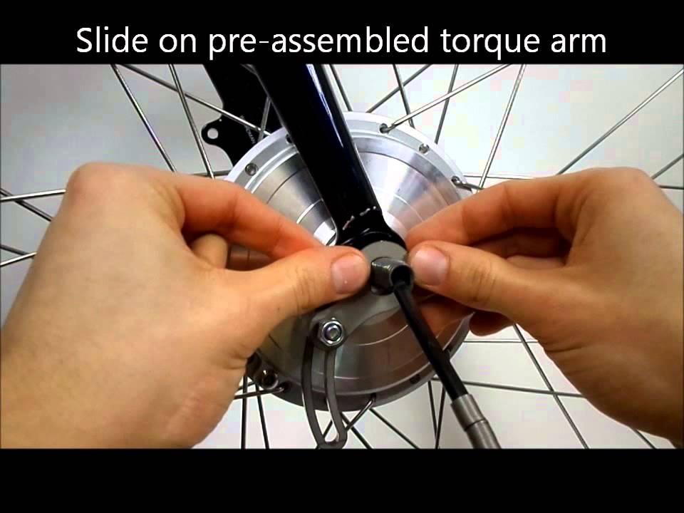 Eyelet Style Universal Torque Arm For Electric Bikes From Torq