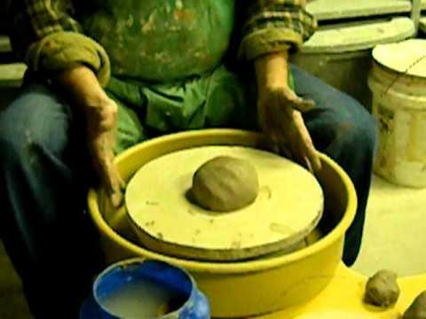 Ceramics Instruction Video Part Five With Lambros Tsuhlares Youtube