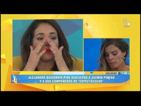 Así fueron las disculpas de Alejandra Baigorria a Jazmín Pinedo