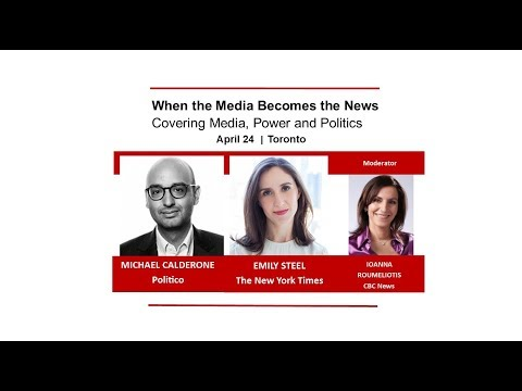 When the Media Becomes the News: Covering Media, Power and Politics