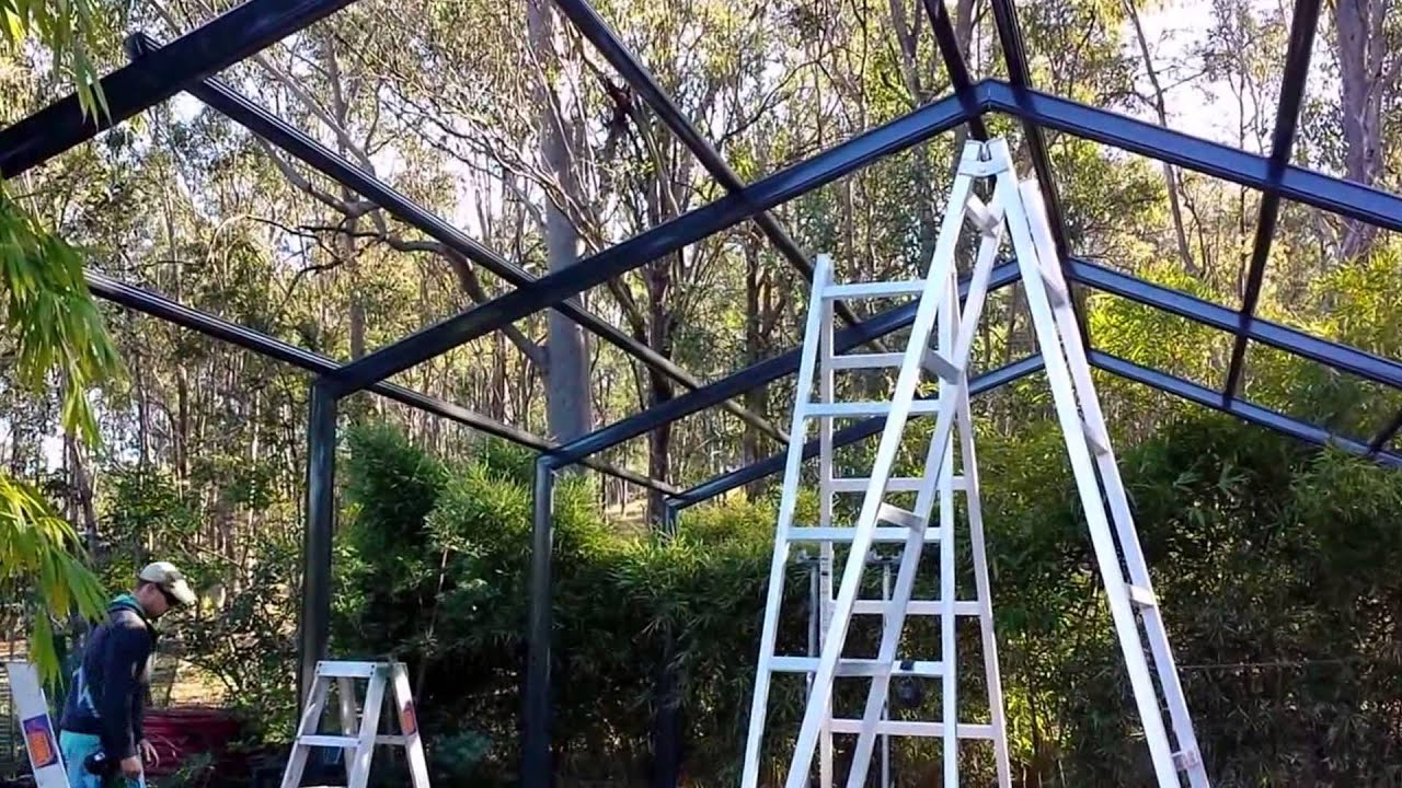 How to install a Stratco Heritage Gable - Adaptit Group - Grandchester,  Queensland