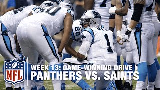 Cam Newton Leads Game-Winning TD Drive to Keep the Panthers Perfect! | Panthers vs. Saints | NFL