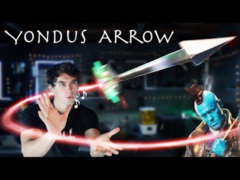 Working Yondu's Arrow That Flies When You Whistle! - Change Direction In Flight!