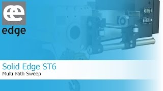 Video Solid Edge ST6 - Multi Path Sweep download MP3, 3GP, MP4, WEBM, AVI, FLV Oktober 2018