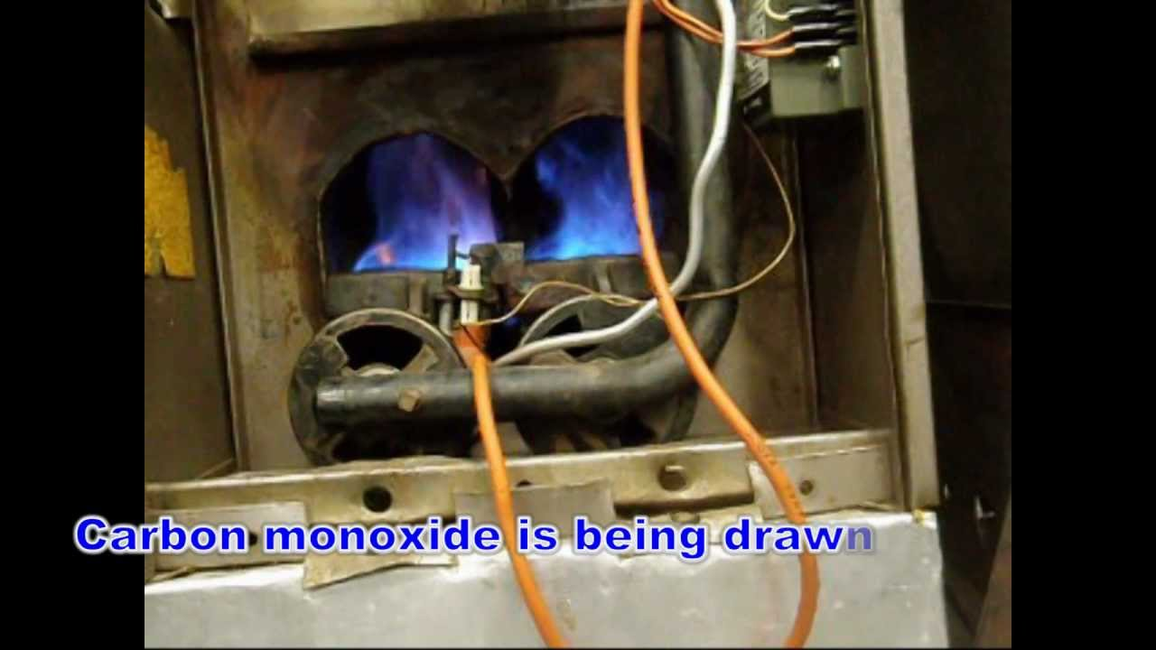 Example Of Flame Movement With A Cracked Heat Exchanger