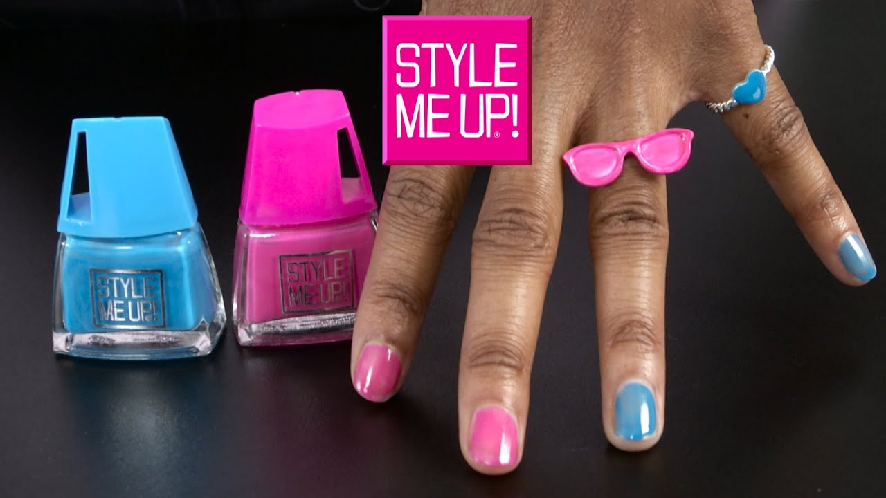 Style Me Up! Polish Duo Nail Art & Rings from Wooky Entertainment ...
