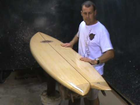 Eco Friendly Retro Fish - Riley Balsa Surfboards Australia