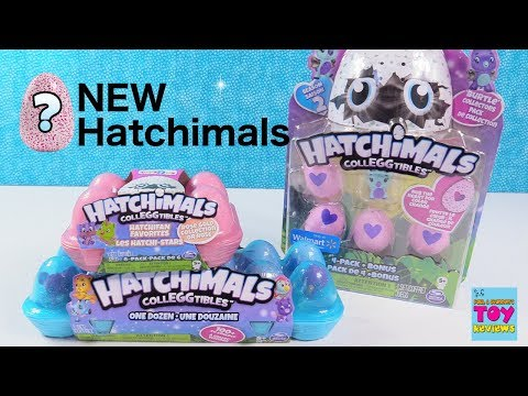 Hatchimals NEW Rose Gold Burtle Exclusive Colleggtibles Packs Toy Review | PSToyReviews
