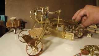 Miniature Tools Antique Road Grader By Art Rafael