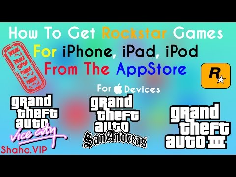 EN] How To Get Any GTA Games From App Store For Free APPLE