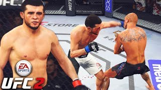 Albert Tumenov Has Dangerous Hands - TKO or Nothing! EA Sports UFC 2 Online Gameplay