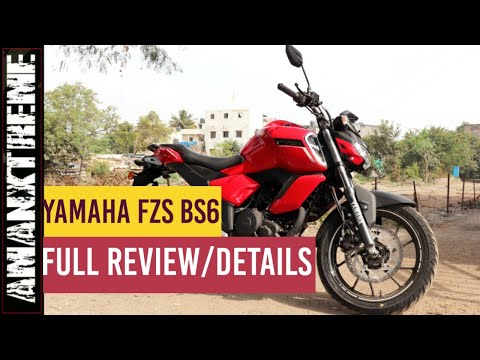 Yamaha FZS BS6 Hindi Review :- Most detailed review of FZS BS6 2020 version