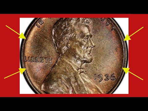 THIS EXTREMELY RARE & VALUABLE 1936 WHEAT PENNY IS WORTH HUGE MONEY! RARE PENNIES TO LOOK FOR!