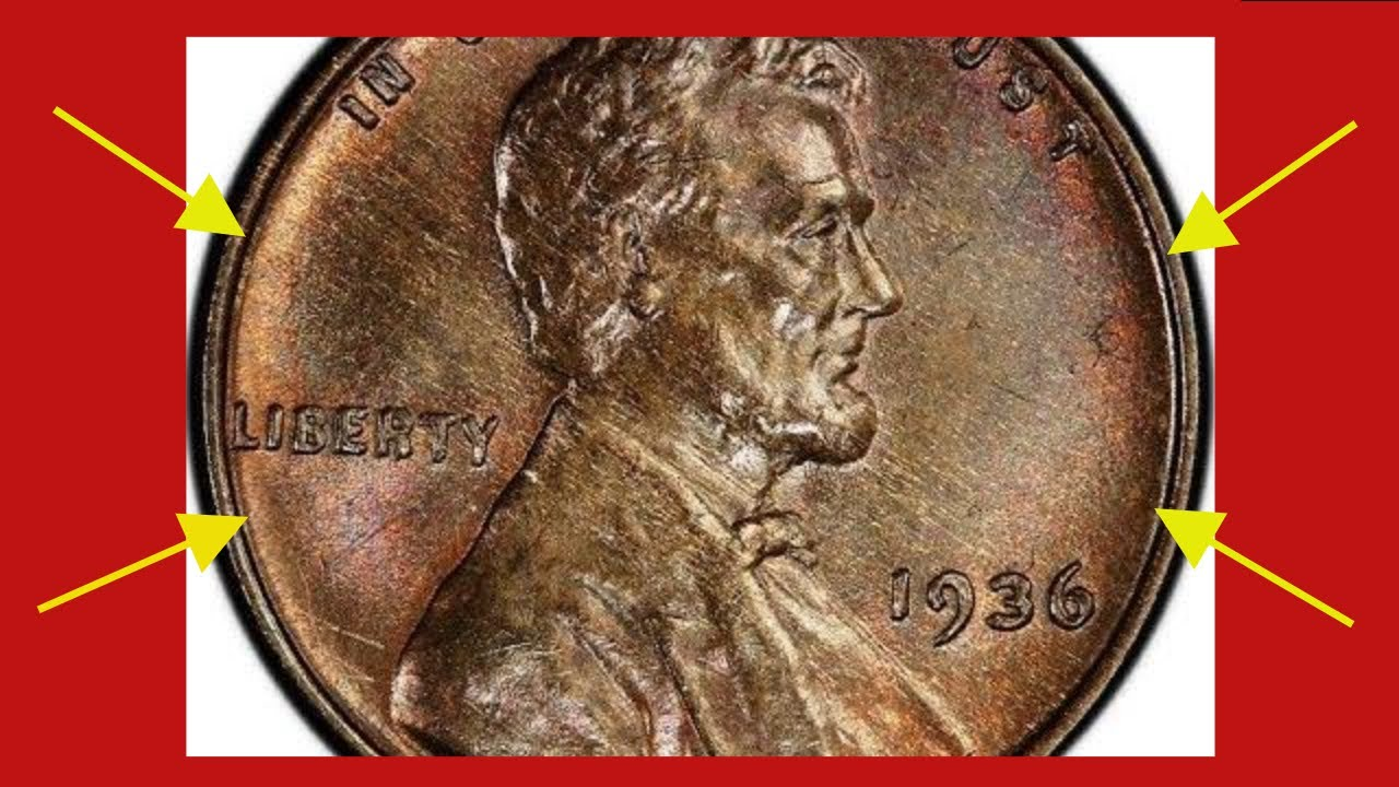 This Extremely Rare Valuable 1936 Wheat Penny Is Worth Huge