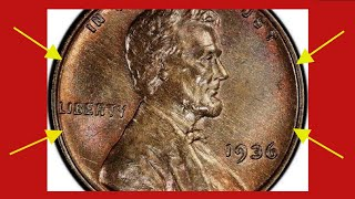 THIS EXTREMELY RARE VALUABLE 1936 WHEAT PENNY IS WORTH HUGE MONEY RARE PENNIES TO LOOK FOR