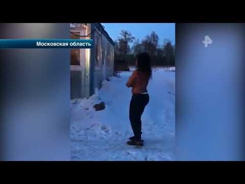 В Подмосковных Люберцах клиенты выставили обнаженных проституток на мороз