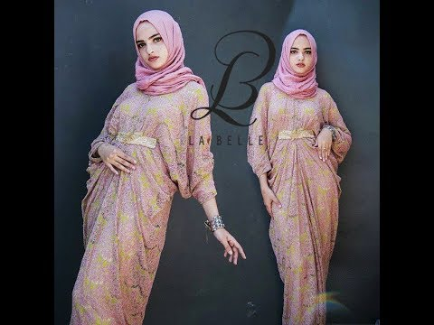 Model Baju Gamis Kaftan Terbaru 2018 Modern Stylist Dan Glamour