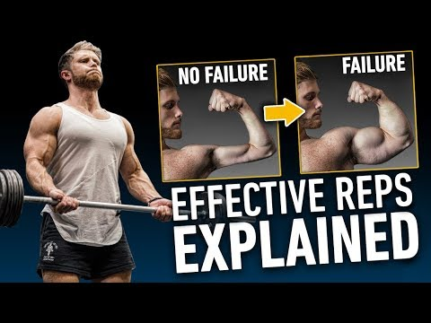 Effective Reps: Does Training To Failure Matter For Muscle Growth? | Science Explained