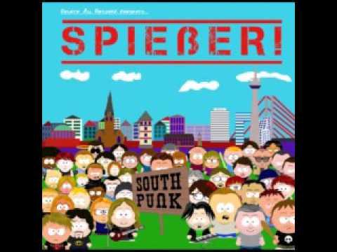 7.) SPIEßER! - 5 Knuckle Shuffle Crass Cover