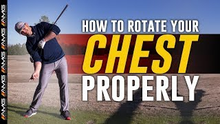 Rotating Your Chest PROPERLY In A Golf Swing 🏌️♂️