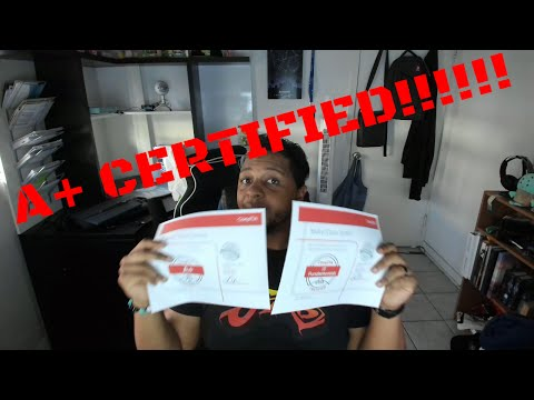 Channel Update & I'm CompTIA A+ Certified!!!!!