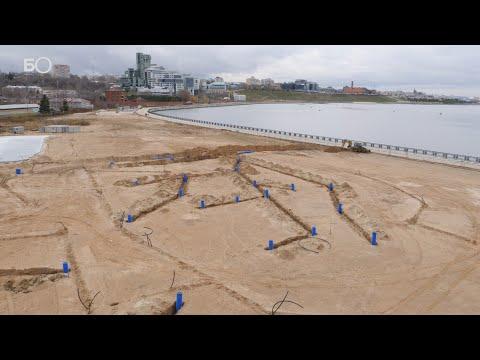 В Казани идет строительство самого большого экстрим-парка в России