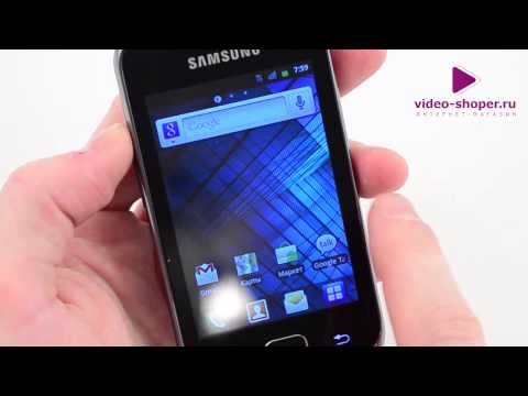 Обзор Samsung GALAXY Gio GT-S5660
