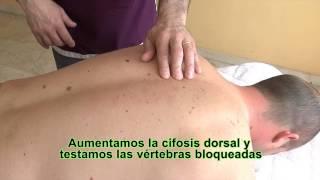 cmo realizar un tratamiento para los dolores de espalda en la zona dorsal i curso de osteopata