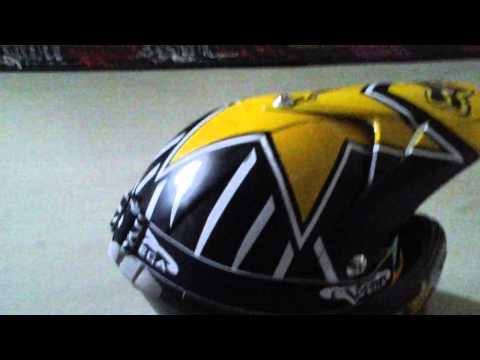 Fox rockstar helmet
