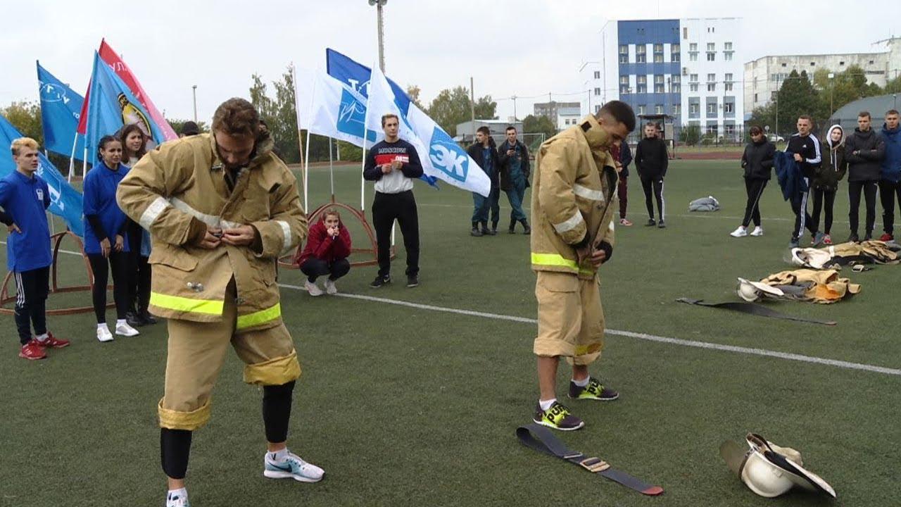Студенты Тамбовской области поучаствовали в первенстве по пожарно-спасательным видам спорта